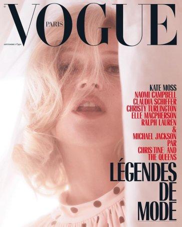 Kate Moss for Vogue Paris September 2018