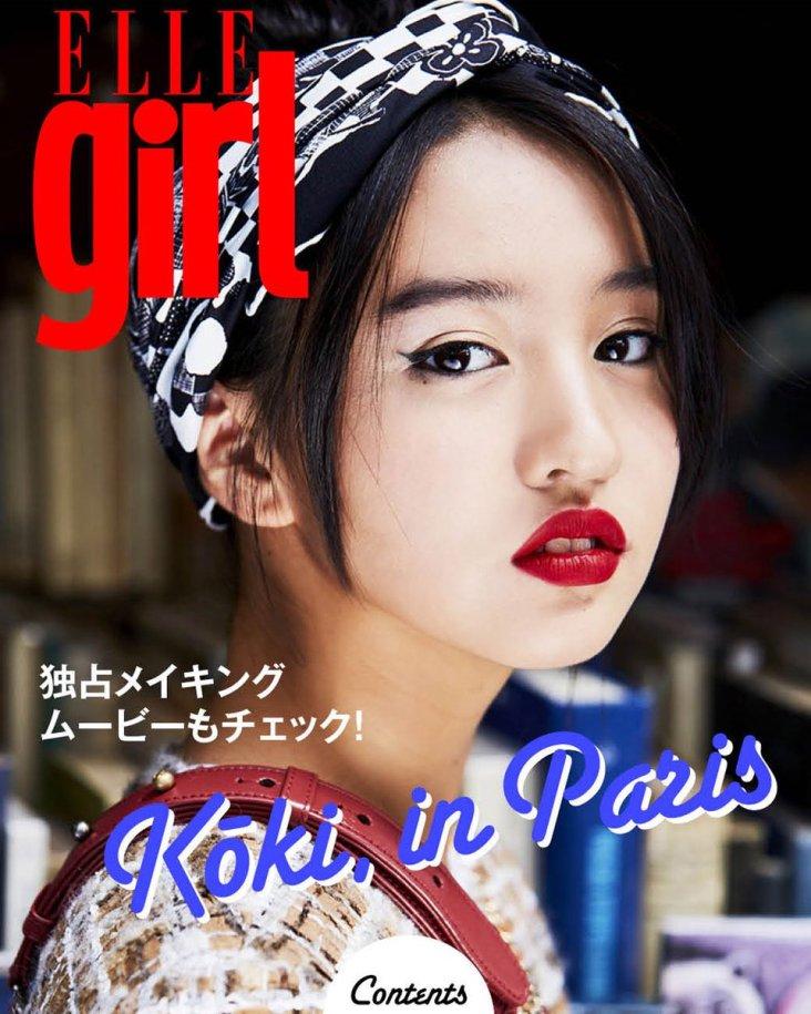 Koki for ELLE Japan October 2018-8