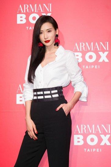 Lin Chi-ling inGiorgio Armani Resort 2018-2