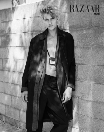 Lucky Blue Smith for Harper's Bazaar Taiwan MAN September 2018-1