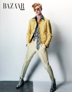 Lucky Blue Smith for Harper's Bazaar Taiwan MAN September 2018-6