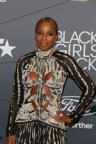 Mary J. Blige in Roberto Cavalli Fall 2018-2