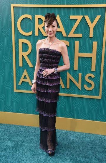 Michelle Yeoh in Armani Prive Fall 2017 Couture