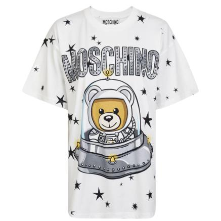 Moschino Teddy UFO t shirt-1