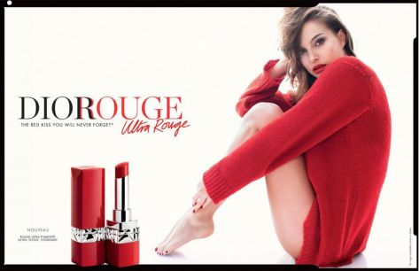 Natalie Portman for Dior Rouge Ultra Rouge 2018-2