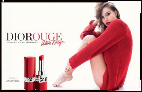 Natalie Portman for Dior Rouge Ultra Rouge 2018-2
