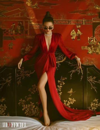 Ni Ni for L_OFFICIEL China September 2018-1