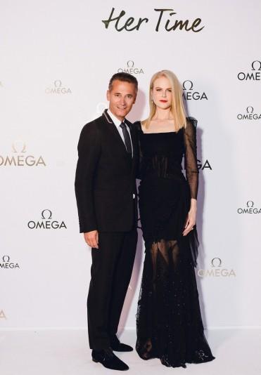 Nicole Kidman in Ulyana Sergeenko Fall 2017 Couture