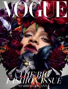 Rihanna for Vogue UK September 2018 Cover B