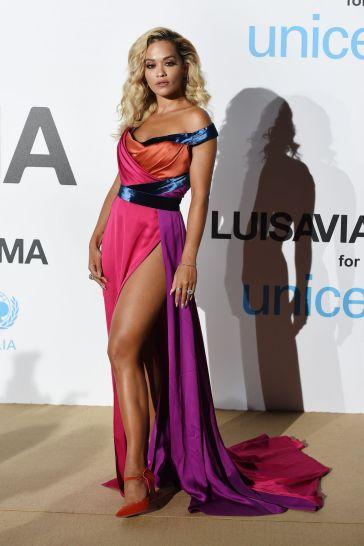 Rita Ora in Ralph & Russo Fall 2018 Couture-1