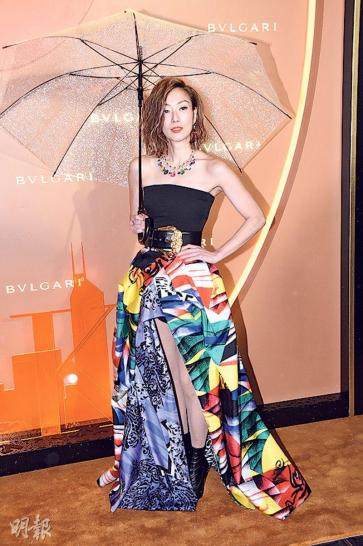 Sammi Cheng in Versace Fall 2018-1
