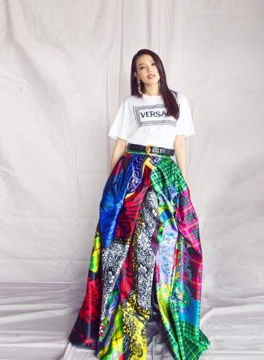 Shu Qi in Versace Fall 2018-1