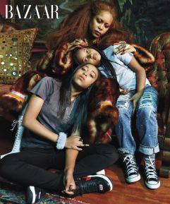 The First Families of Music X Harper's Bazaar US September 2018-3