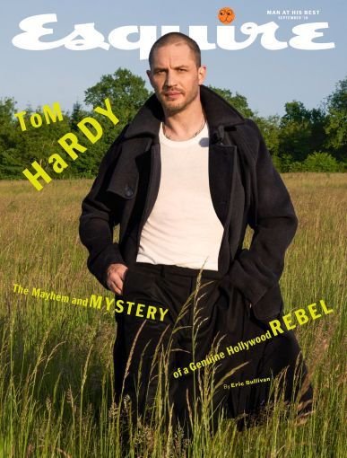 Tom Hardy Esquire UK September 2018 Cover B