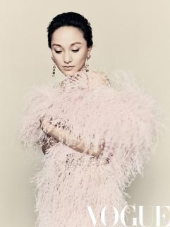 Zhou Xun for Vogue China September 2018-6