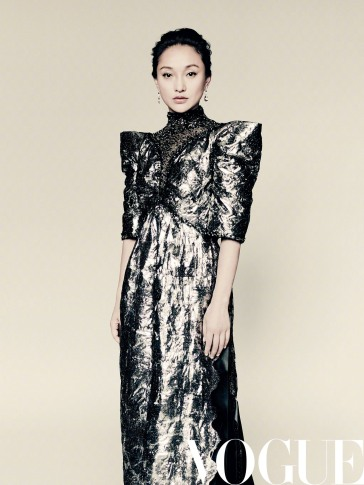 Zhou Xun for Vogue China September 2018-9