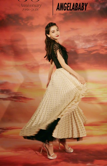 Angelababy in Dior Resort 2019-2