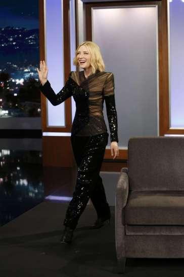 Cate Blanchett in Balmain Fall 2018-1