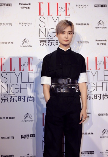 Chris Lee in Alexander Wang Spring 2019-2