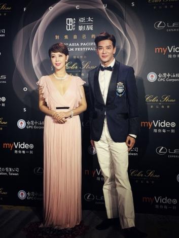 Daniel Chan in Denim Couture