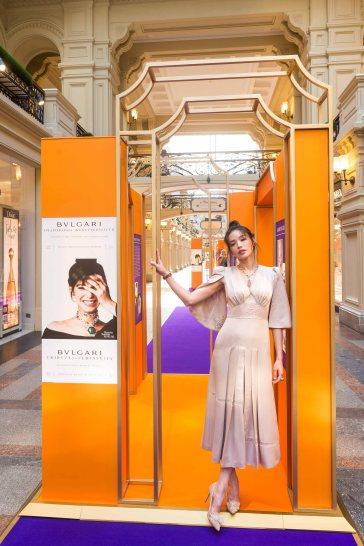 寶格麗品牌代言人舒淇出席寶格麗莫斯科克林姆林宮展覽國際媒體俄羅斯早餐宴