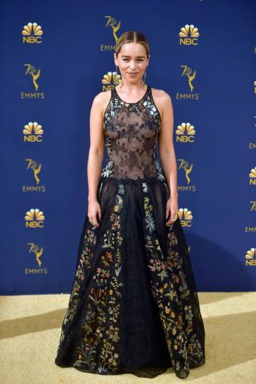 Emilia Clarke in Dior Fall 2018 Couture-2