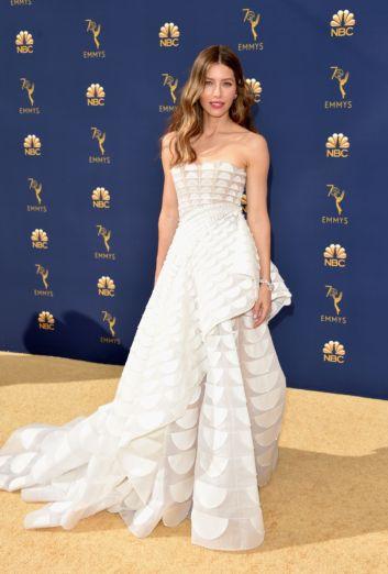 Jessica Biel in Ralph & Russo Fall 2018 Couture-2
