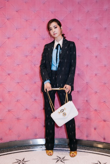 Jolin Tsai in Gucci Pre-Fall 2018-5