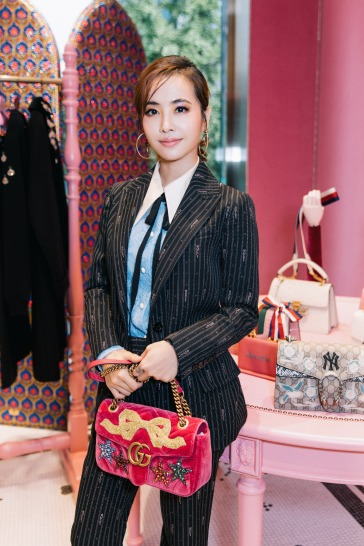 Jolin Tsai in Gucci Pre-Fall 2018-7