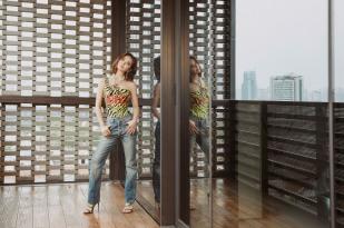 Jolin Tsai in Gucci Resort 2019-5