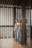 Jolin Tsai in Gucci Resort 2019-6