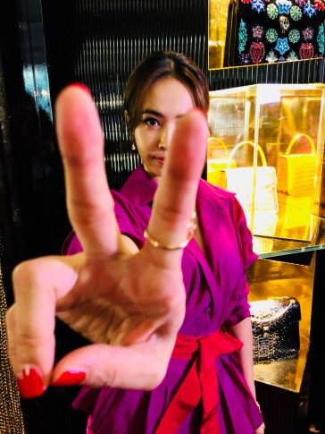 Jolin Tsai in Silvia Tcherassi-1