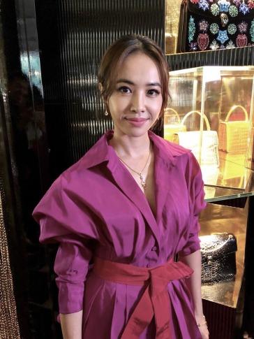 Jolin Tsai in Silvia Tcherassi