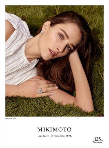 Josephine Le Tutour Mikimoto Jewelry Fall 2018 Campaign-4