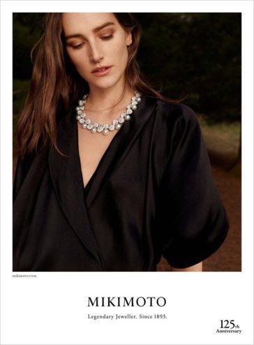 Josephine Le Tutour Mikimoto Jewelry Fall 2018 Campaign-5