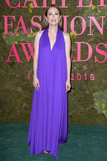 Julianne Moore in Salvatore Ferragamo