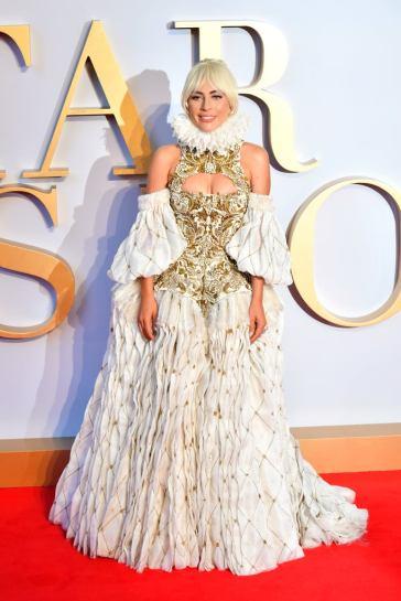 Lady Gaga in Alexander McQueen Fall 2013-1