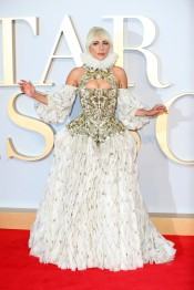 Lady Gaga in Alexander McQueen Fall 2013-3