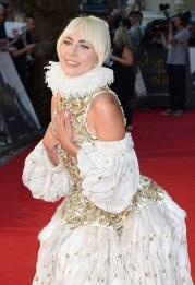 Lady Gaga in Alexander McQueen Fall 2013-4
