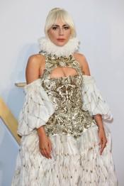 Lady Gaga in Alexander McQueen Fall 2013-5