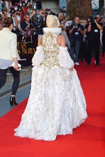 Lady Gaga in Alexander McQueen Fall 2013-6