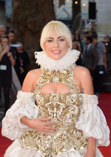 Lady Gaga in Alexander McQueen Fall 2013-7