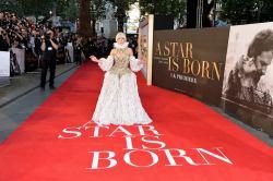 Lady Gaga in Alexander McQueen Fall 2013-8