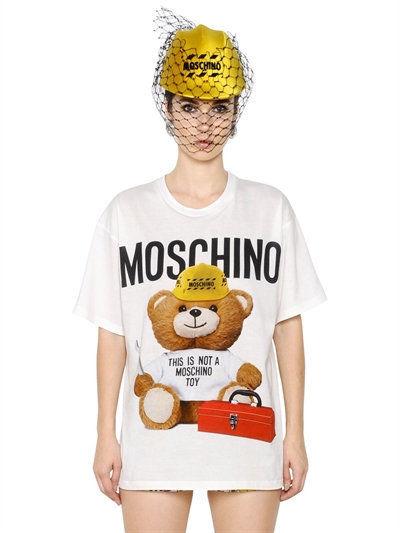 Moschino construction Bear