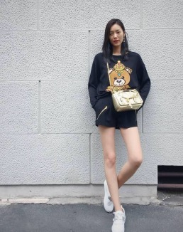 Moschino Teddy Bear-Liu Wen