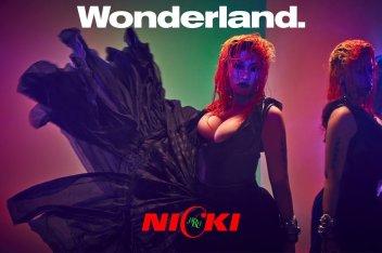Nicki Minaj for Wonderland Autumn 2018-2