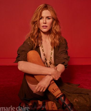 Nicole Kidman for Marie Claire US October 2018-5