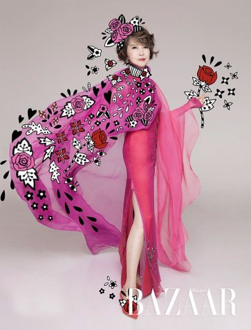 Sandy Lam & Siao Fong-fong for Harper's Bazaar HK November 2018-3