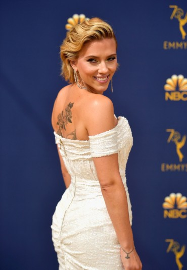 Scarlett Johansson in Balmain-1