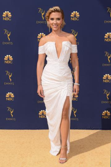 Scarlett Johansson in Balmain-2